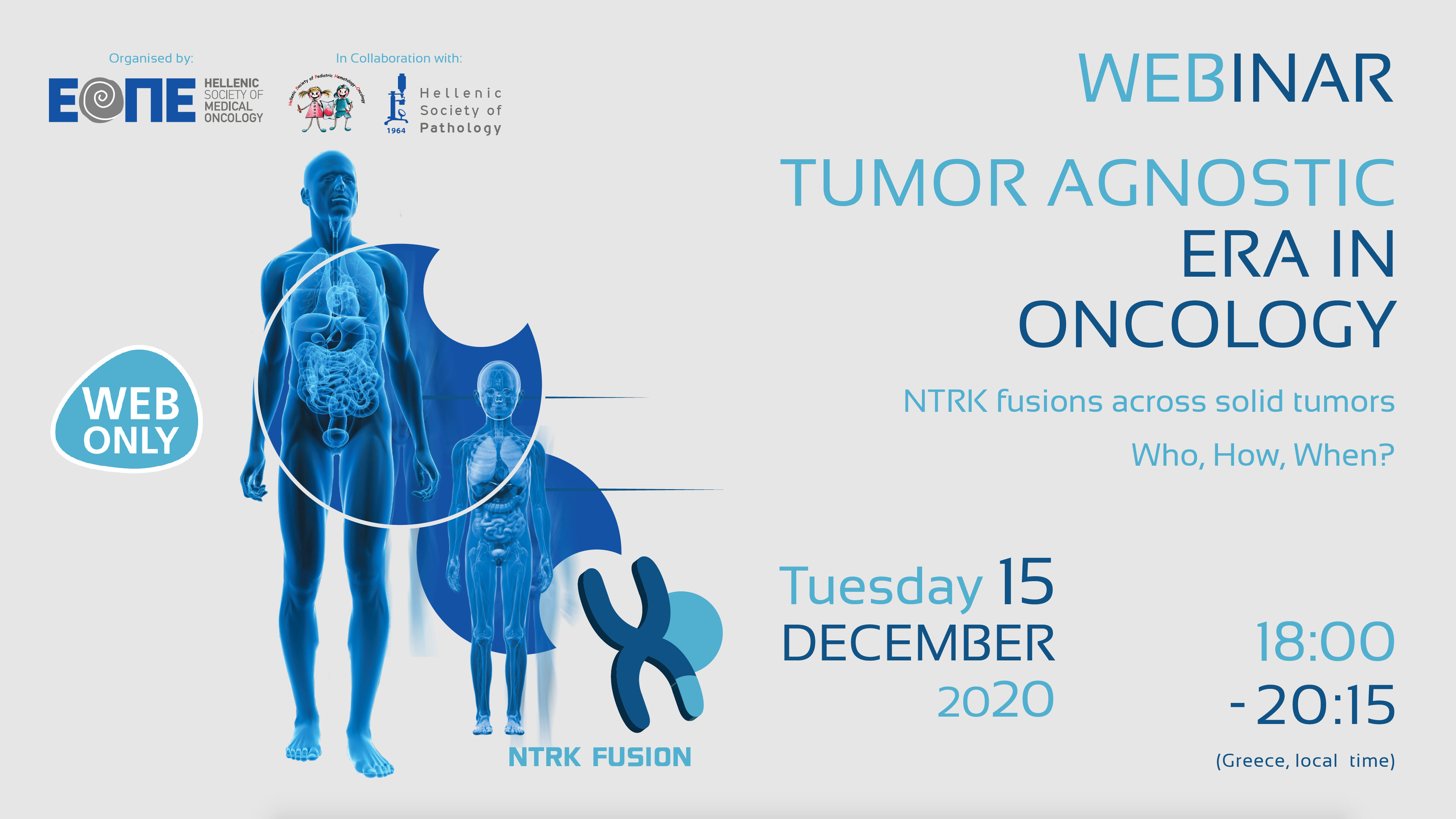 "Webinar  ""Tumor agnostic era in oncology: NTRK fusions across solid tumors – Who, How, When?"""